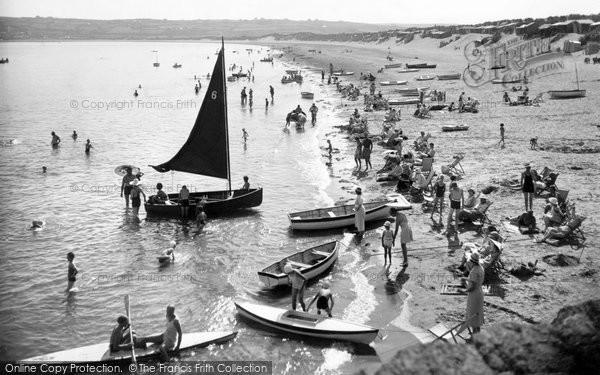 Photo of Abersoch, Beach c.1935