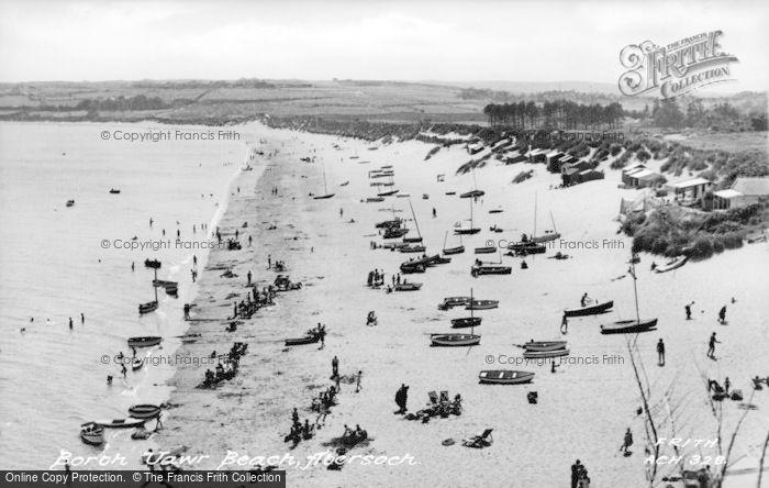Photo of Abersoch, Borth Fawr Beach c.1955