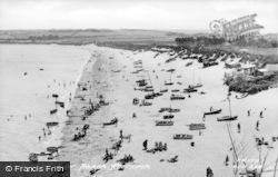 Abersoch, Borth Fawr Beach c.1955