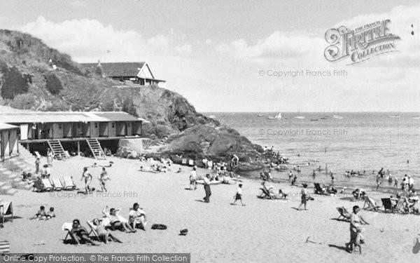 Photo of Abersoch, Borth Fawr Beach c.1960