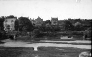 Abersoch, Bridge From Harbour Road c.1935