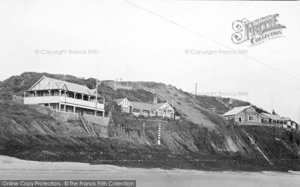Photo of Abersoch, Cliff Bungalows c.1935