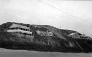 Abersoch, Cliff Bungalows c.1935