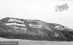 Abersoch, Cliff Bungalows c.1935