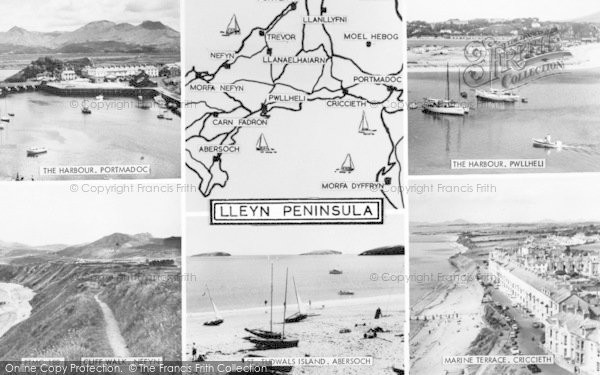 Photo of Abersoch, Composite c.1935