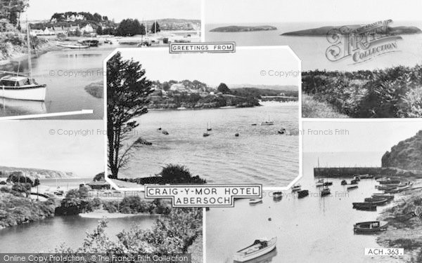 Photo of Abersoch, Composite c.1955