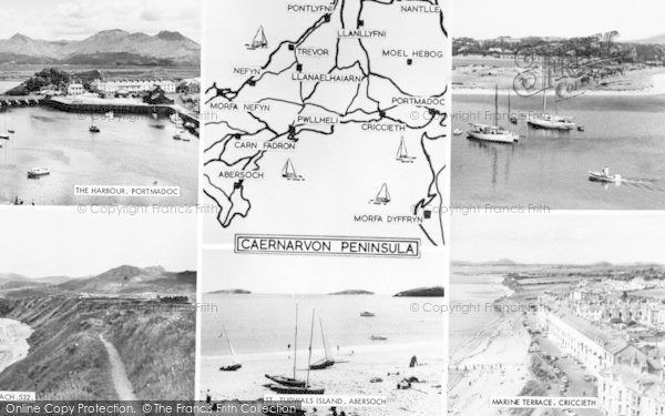 Photo of Abersoch, Composite c.1965