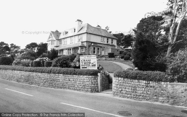 Photo of Abersoch, Craig Y Mor Hotel c.1965
