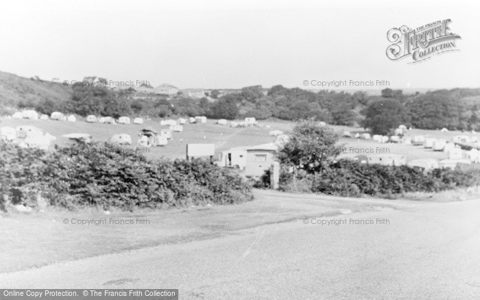 Photo of Abersoch, Fach Farm Camping Site c.1955