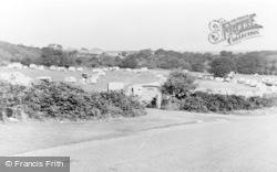 Abersoch, Fach Farm Camping Site c.1955