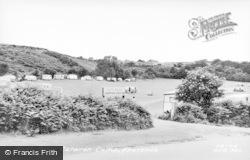 Abersoch, Fach Farm Caravan Park c.1955
