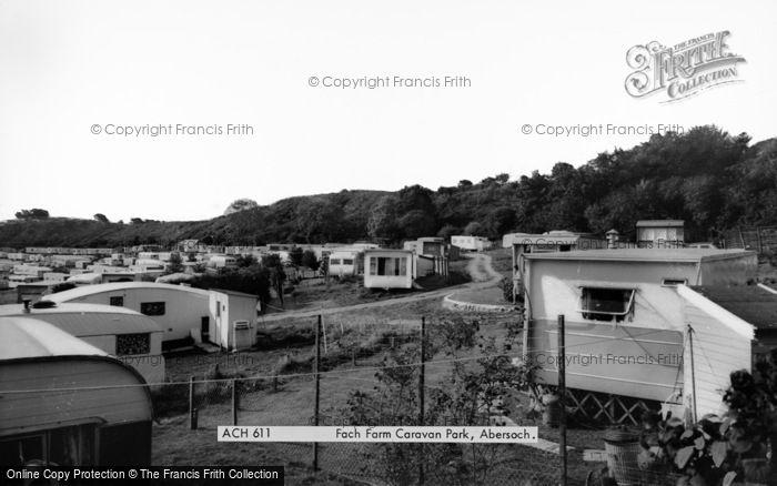 Photo of Abersoch, Fach Farm Caravan Park c.1965
