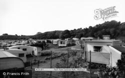 Abersoch, Fach Farm Caravan Park c.1965