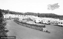 Abersoch, Fach Farm Caravan Site c.1965