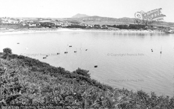 Photo of Abersoch, From Bwlchtocyn c.1960