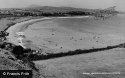 Abersoch, From Bwlchtocyn c.1965