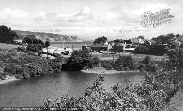 Photo of Abersoch, Harbour c.1960