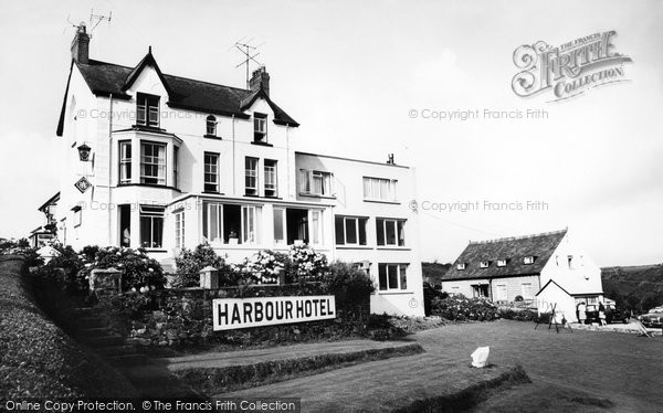 Photo of Abersoch, Harbour Hotel c.1960