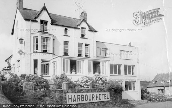 Photo of Abersoch, Harbour Hotel c.1965
