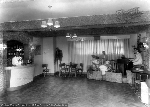Photo of Abersoch, Harbour Hotel, Flamenco Room c.1965