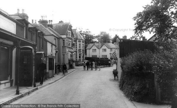 Photo of Abersoch, Harbour Street c.1965