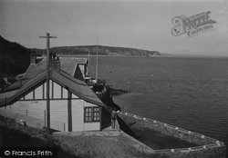 Abersoch, Llanbedrog Head From The Headland 1936