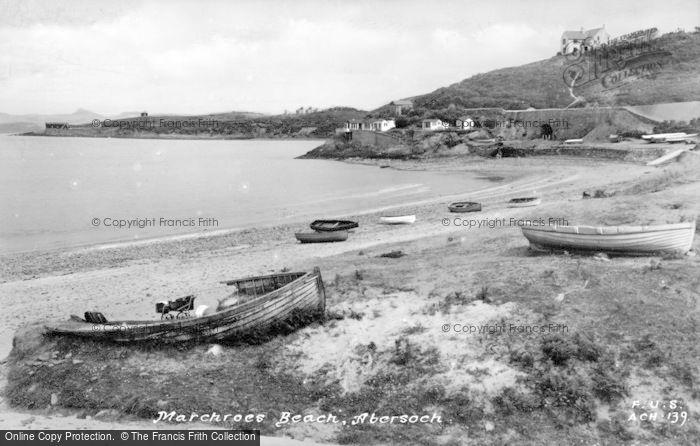 Photo of Abersoch, Machroes Beach c.1935