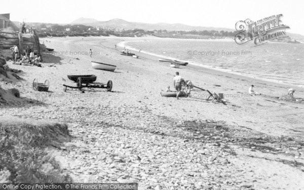 Photo of Abersoch, Machroes Beach c.1960
