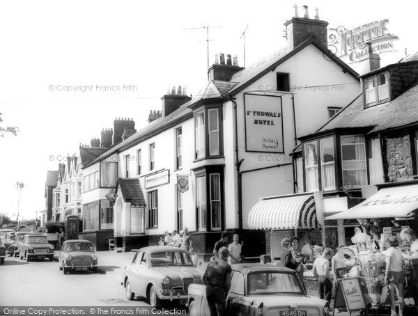 Photo of Abersoch, Main Street c1965