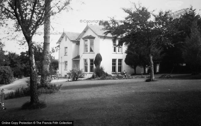 Photo of Abersoch, Manor Private Hotel c.1955