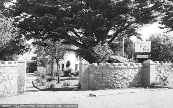 Photo of Abersoch, Manor Private Hotel c.1965