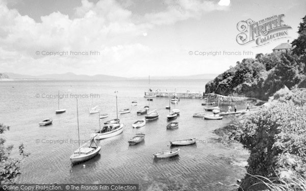 Photo of Abersoch, Outer Harbour c.1965