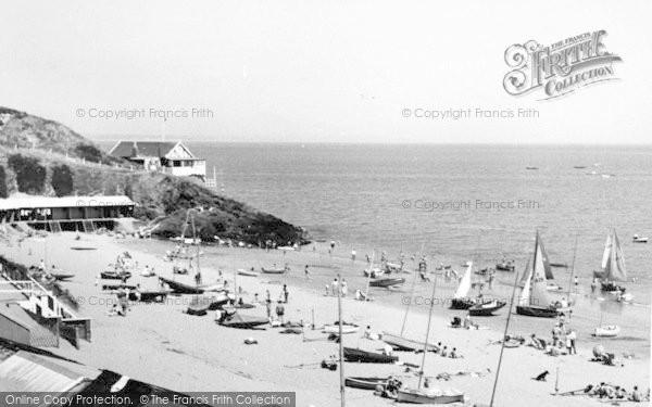 Photo of Abersoch, Penbennar Beach c.1960