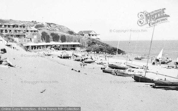 Photo of Abersoch, Penbennar Beach c.1960