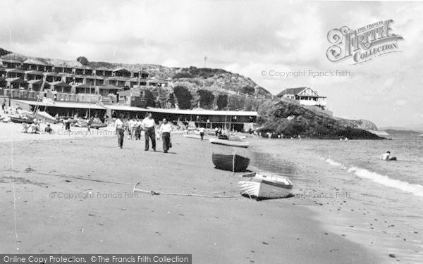 Photo of Abersoch, Penbennar Beach c.1965