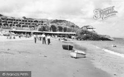 Abersoch, Penbennar Beach c.1965