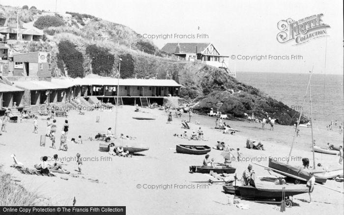 Photo of Abersoch, Penbennar Beach c.1965