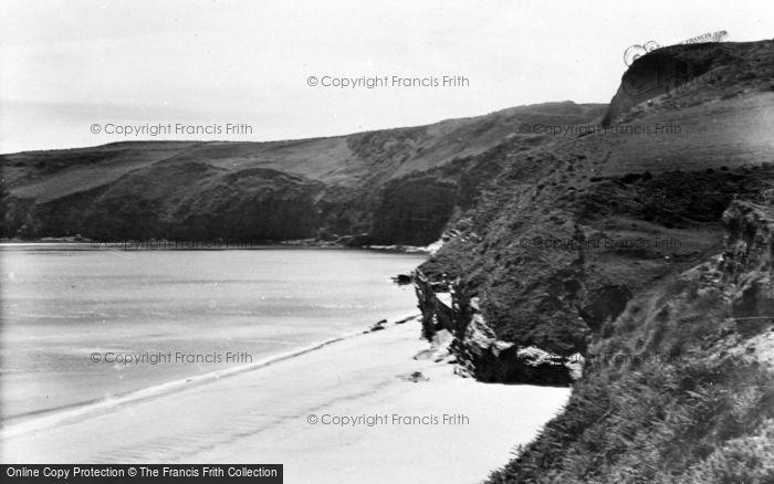 Photo of Abersoch, Porth Ceiriad From East c.1936