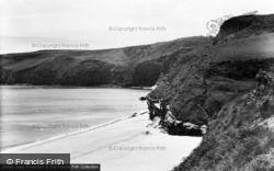 Abersoch, Porth Ceiriad From East c.1936