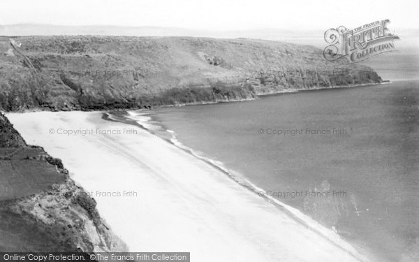 Photo of Abersoch, Porth Ceiriad From The West c.1935