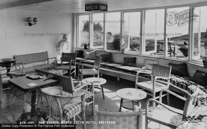 Photo of Abersoch, Porth Tocyn Hotel, Sun Lounge c.1965