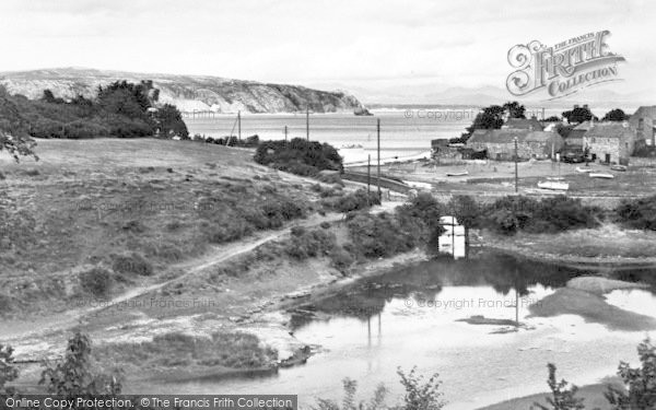 Photo of Abersoch, River Mouth And Llanbedrog Head c.1936