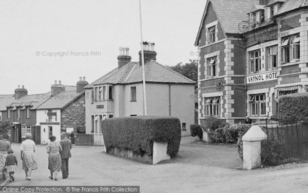 Photo of Abersoch, Road To Pen Y Cei c.1955