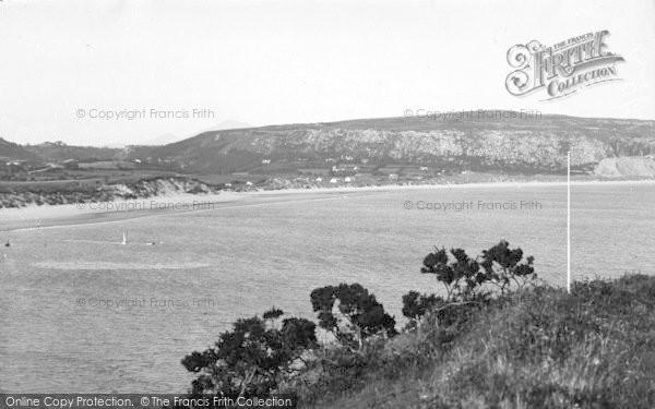 Photo of Abersoch, Sandy Beach c.1936