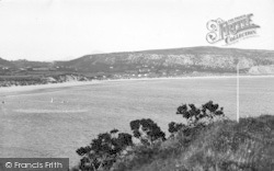 Abersoch, Sandy Beach c.1936
