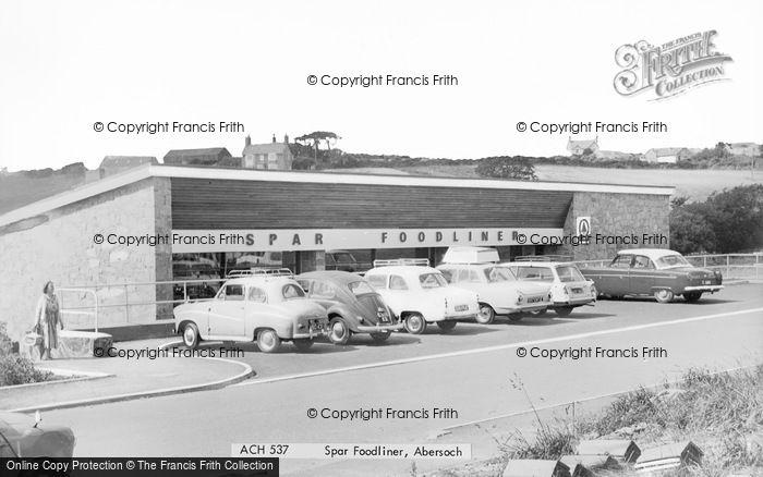 Photo of Abersoch, Spar Foodliner c.1965