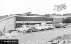 Abersoch, Spar Foodliner c.1965