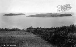 Abersoch, St Tudwal's Island 1901