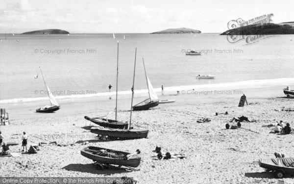 Photo of Abersoch, St Tudwal's Island c.1965