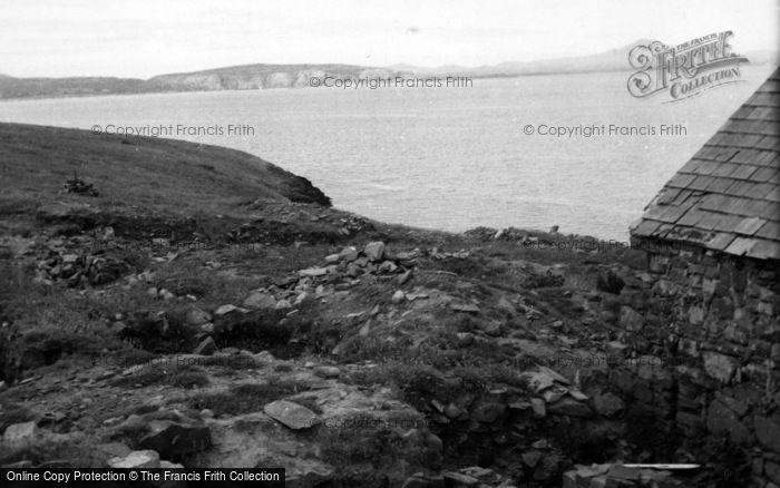 Photo of Abersoch, St Tudwal's Island East, The Chapel 1961